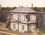 536 Ratio: TRACKSIDE BUILDINGS  Midland Signal Box (130mm x 50mm)